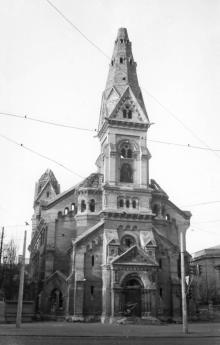 Одесса. Развалины лютеранской церкви