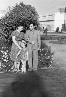 На стадионе «Пищевик». 1955 г.