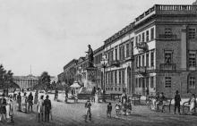 Акварель, 1820-е годы