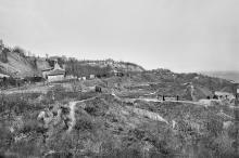 На склонах в районе 12-й ст. Большого Фонтана. 1918 г.
