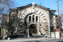 Дом на Княжеской улице, № 1а. Фото Сергея Котелко. 2007 г.