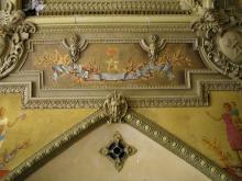 Фрагмент стен зала бывшего Русского технического общества. Фотограф Виктор Баль. 2008 г.
