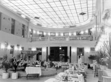 Интерьер ресторана «Киев»