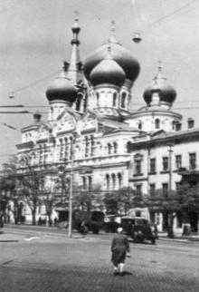 Внешний вид Семинарии на ул. Чижикова. 1957 г.