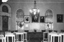 Актовый зал Семинарии на ул. Чижикова. 1957 г.