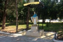 Каплица Девы Марии на территории санатория «Одесса». Фото Е. Волокина. 19 августа 2016 г.