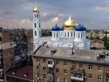 Свято-Успенский кафедральный собор. Фото Е. Волокина. 19 августа 2016 г.