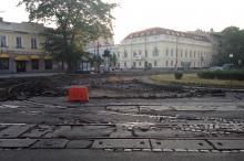 Тираспольская площадь. Реконструкция. Фото Е. Волокина. 20 августа 2016 г.