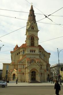 Лютеранская церковь, фотограф О. Владимирский, 24 апреля 2010 г.