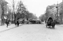 На Дерибасовской улице. Конец октября 1941 г.