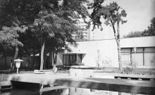 Одесса. Дом приемов. Внутренний дворик с бассейном