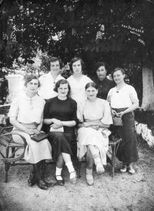 Санаторий учителей. Одесса. 1939 г.