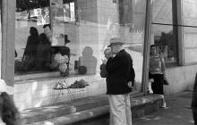Овощной магазин на Дерибасовской, фотограф А.И. Молчанов, 1962 г.