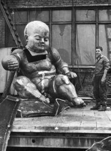 Скульптура в работе