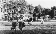 Тираспольская площадь (1944 — 1991)
