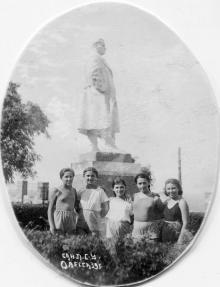 Санаторий лечебно-санитарного управления. 1939 г.