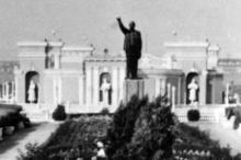 Памятник Ленину (в полный рост) на Куяльнике