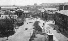 Одесса. Ланжероновская улица. Почтовая карточка. 1918 г.