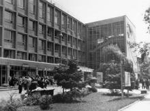 Новое здание Политехнического института. Фото в книге «Одесса говорит — добро пожаловать». 1966 г.