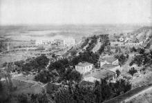 Одесса. Лиман. Куяльницкий курорт. Общий вид. Почтовая карточка. 1931 г.