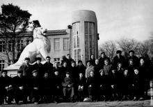 Санаторий им. Дзержинского. 1960 г.