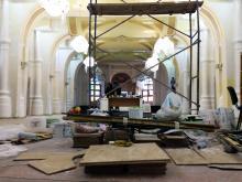 В Главной синагоге. Фото Е. Волокина. 06 апреля 2016 г.