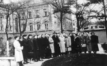 Ул. Щепкина, № 14, химфак ОГУ, 1958 г.