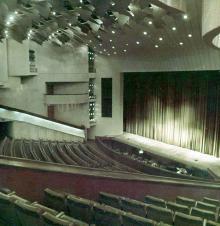 Зрительный зал. Вид с балкона