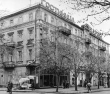 Гостиница «Спартак», начало 1990-х гг.