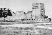 Башня Овидия. Фото в буклете 1968 г.
