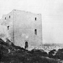 Башня Пушкина. Фото в буклете 1968 г.