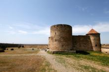 В Аккерманской крепости. Фото Е. Волокина. 12 августа 2012 г.