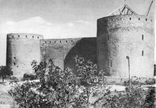 Цитадель или Генуэзский замок. Фото Д.П. Вздвижкова в фотоочерке «Белгород-Днестровская крепость», 1975 г.