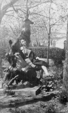 В санатории пограничников. Одесса, 1964 г.