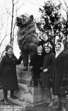 Санаторий «Россия» Одесса, январь 1970 г.