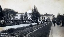 Одесса. Городск. сад. Почтовая карточка. По подписи 1938 г.