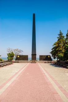 В Мемориальном парке Воинской Славы. Фото А. Лебедева, март, 2015 г.
