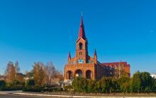 Молитвенный дом на жилмассиве «Солнечная». Фото А. Лебедева, 2015 г.