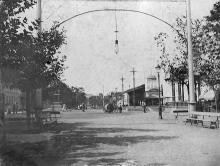 Николаевский бульвар, фото конца XIX века