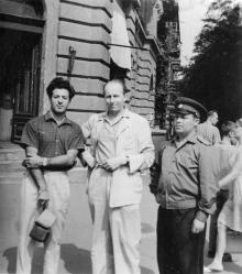 Одесса. Ленина угол Жуковского. 1970-е гг.
