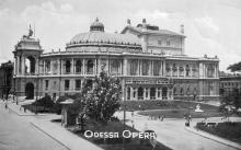 Одесса. Оперный театр