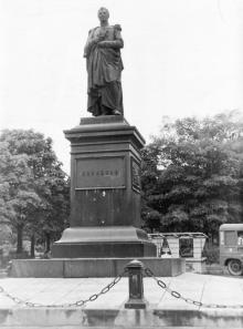 Одесса. Памятник М.С. Воронцову. 1958 г.