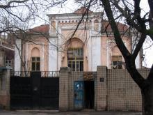Ул. Ольгиевская, № 14. Фото Анатолия Дроздовского. Декабрь, 2004 г.