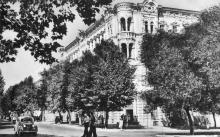 Одеса. Готель «Червоний». Фото Я. Таборовського. Поштова картка. 1954 р.