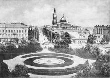 Одесса. Пушкинская улица. Открытое письмо. По штемпелю 1903 г.