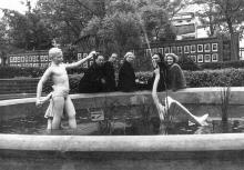 Бассейн в парке им. Ленина. Белгород-Днестровский, 1960-е гг.