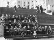 На Потемкинской лестнице. 1977 г.