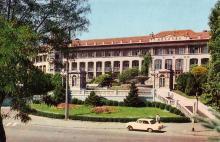 Санаторій «Молдова». Фото А. Підберезького. З комплекту листівок «Одеса» 1973 р.