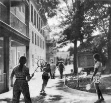 Санаторий «Фонтан». Фото в фотобуклете «Большой Фонтан», 1974 г.