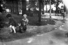 Белгород-Днестровский. В парке им. В.И. Ленина. Фото Архипа Александровича Гаджий. Начало 1980-х гг.